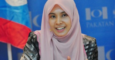 PKR vice-president and Lembah Pantai MP Nurul Izzah Anwar