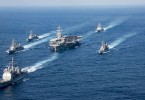 Carl Vinson strike group sailing towards Korean waters