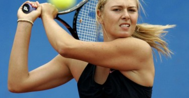 Sharapova returns to the Tour after serving a 15-month ban.