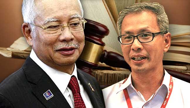 Najib vs Pua