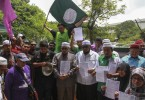 The protest by PAS members.