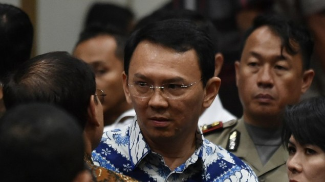 Ahok recently lost a run-off election in his bid to be Jakarta governor for another term..