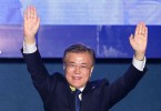 Moon's victory ends nearly a decade of conservative rule.