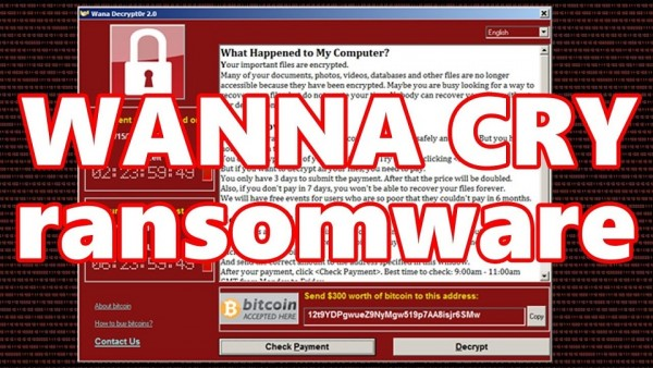 WannaCry software