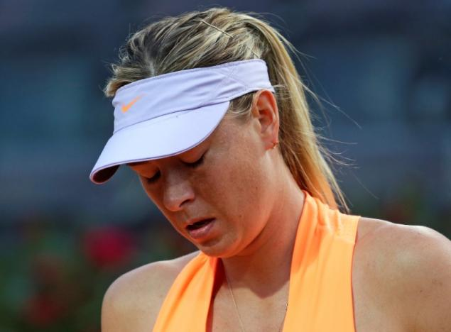 Tennis - WTA - Rome Open - Maria Sharapova of Russia v Mirjana Lucic-Baroni of Croatia