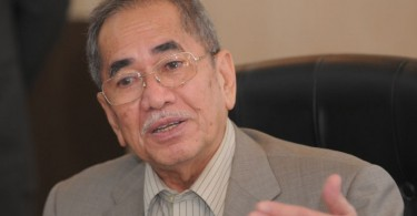 Datuk Seri Dr Wan Junaidi Tuanku Jaafar.