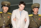 Otto Warmbier while in custody in North Korea
