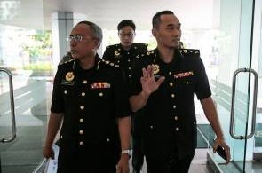 The MACC officers who were in action today.