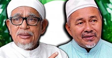 Datuk Seri Abdul Hadi Awang and Tuan Ibrahim Tuan Man