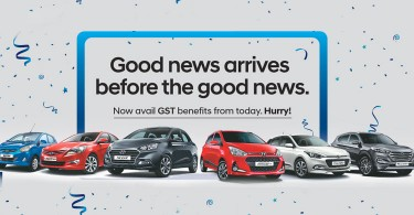 An Indian carmaker offering discounts in conjunction with the introduction of GST in the country