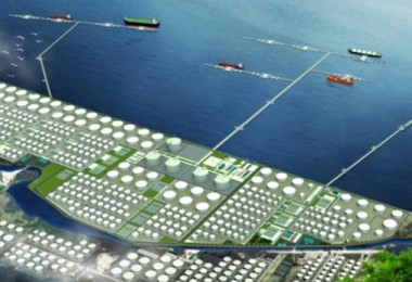 What part of the Pengerang complex could look like when completed.