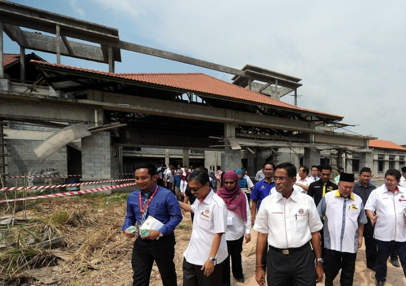 Work on the Bera Hospital has been delayed by two years.