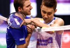 Another failed attempt by Chong Wei (right) to be a world champion.