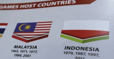 Malaysia has apologised for the mistake and the correction to be made in a reprint of the souvenir booklet. printed