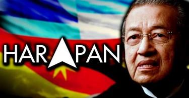 Mahathir, chairman of Pakatan Harapan