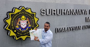 Taman melawati filed a report to MACC