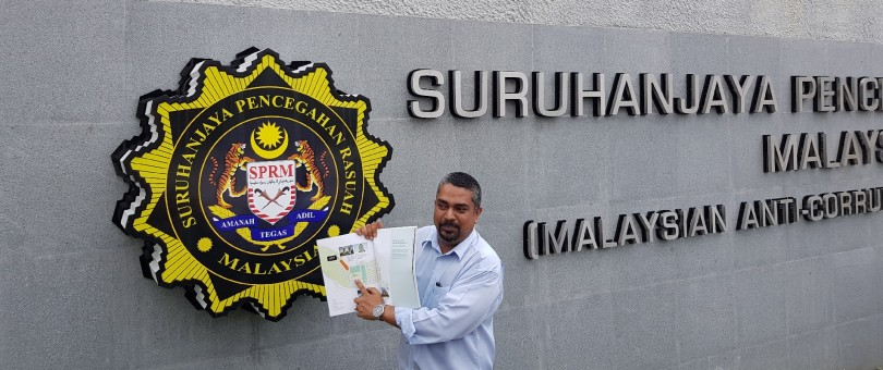 Taman melawati filed a report to MACC