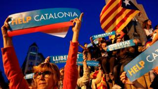 No help for Catalonia -- at least for now.