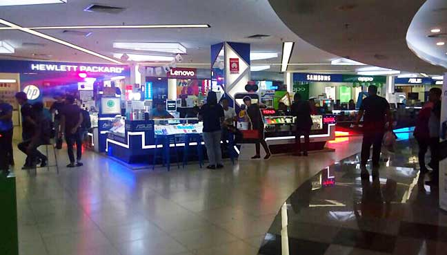 The mall at the Mara Building in Kuala Lumpur was the first to be opened.