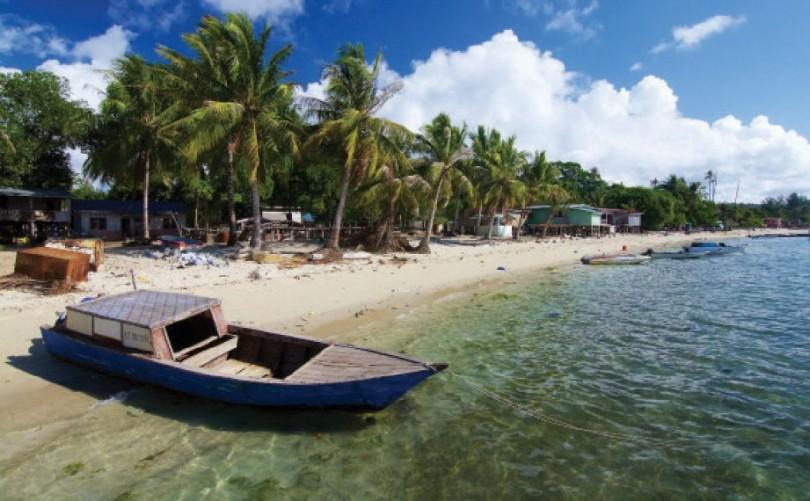 One of the villages at Pulau Balambangan