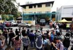 The Datuk Keramat tahfiz school hostel where a fire recently killed 23 occupants.