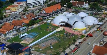Dataran Merdeka -- site of the expo