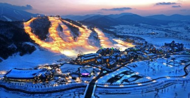 Pyeongchang, site of the next Winter Olympics.