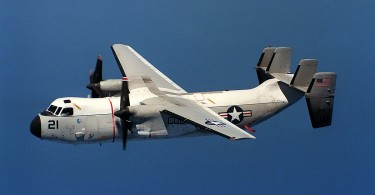 A US Navy  C-2 Greyhound