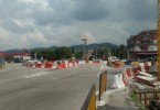 Traffic has been diverted and barriers placed as traffic lights at the junction near Ampang Waterfront have yet to be fixed as seen in this picture tweeted by @1Ampang on Thursday (Nov 23).