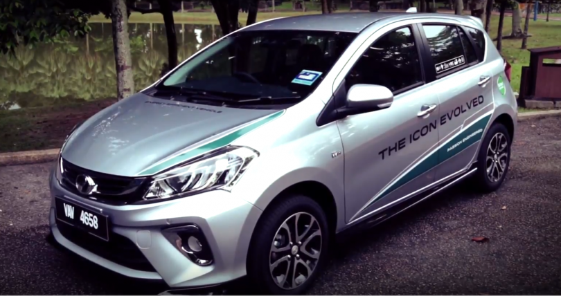 The New Myvi Advance 2018