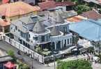 The contentious RM1.2 million Disney-castle-like bungalow in Kampung Melayu Ampang.