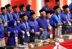 The finale to the 2017 Umno general assembly.