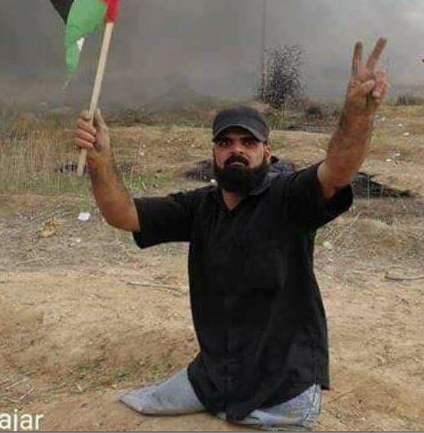 Ibrahim Abu Thurayeh was shot in the head by Israeli security forces . He had lost both his legs in a 2008 Israeli missile strike in Gaza.