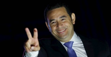 Guatemalan President Jimmy Morales, who is a former television comedian was earlier this year became embroiled in a bitter spat with the United Nations when a U.N.-backed anti-corruption body in Guatemala tried to impeach him.