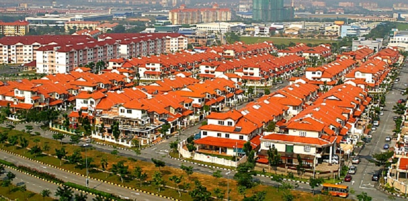 An oversuppply of residential properties, especially high-cost ones.