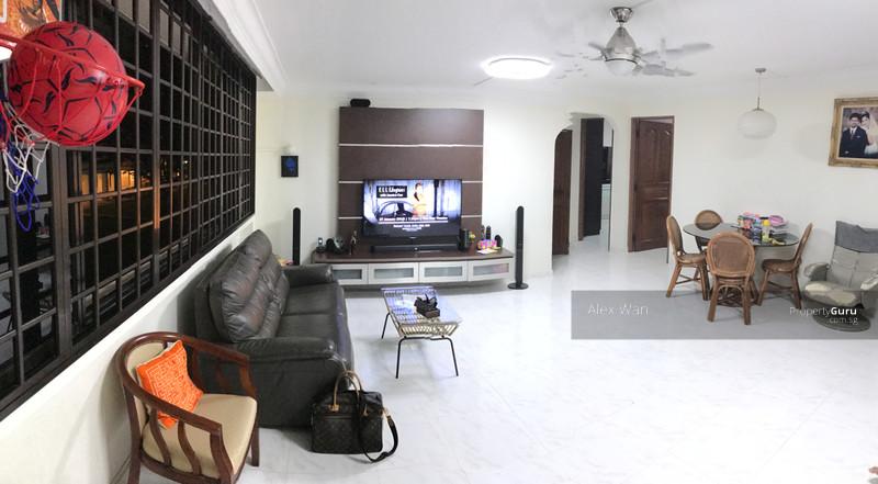 The inside of a Singapore HDB flat unit in Serangoon Avenue.
