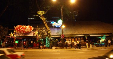 Beach Club was originally sited at the intersection of Jalan P. Ramlee with Jalan Sultan Ismail.