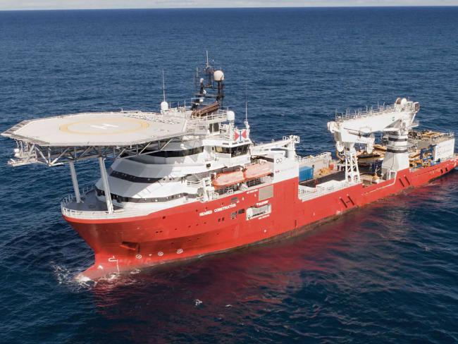 The Norwegian Seabed Constructor is reputed to be the world's most advanced civilian exploration vessel.