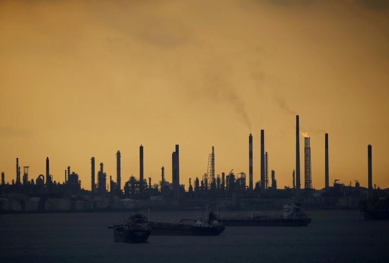 Royal Dutch Shell's Pulau Bukom offshore petroleum complex