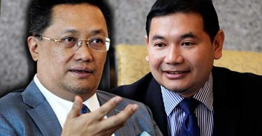 Rahman (left) and Rafizi
