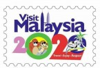 The official Visit  Malaysia 2020 logo