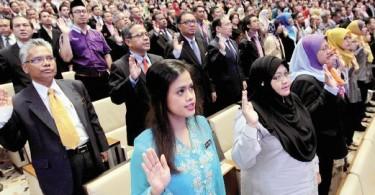 Malaysian civil servants. Photo an illustration only.