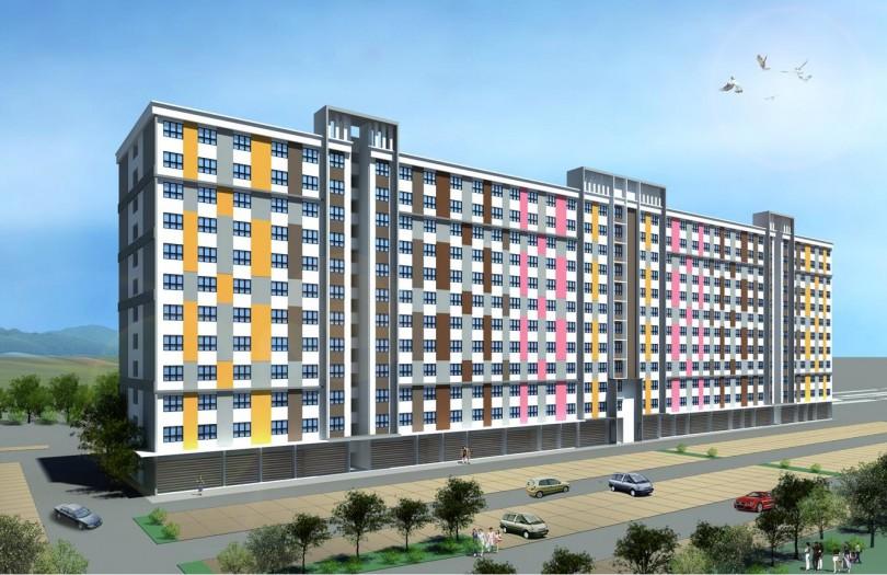 An artist's impression of a Selangorku project in Kuala Langat.