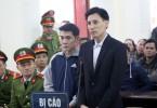 Hoàng Đức Bình (right) and Nguyễn Nam Phong