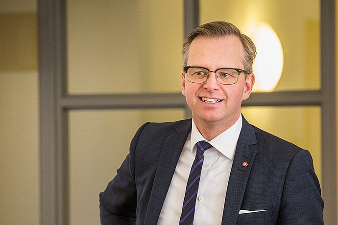 Swedish Minister for Entrepreneur and Innovation Mikael Damberg
