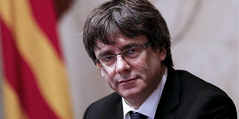 Puigdemont was on self-imposed exile for the last five months.