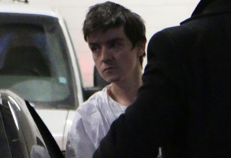 Alexandre Bissonnette being taken to court