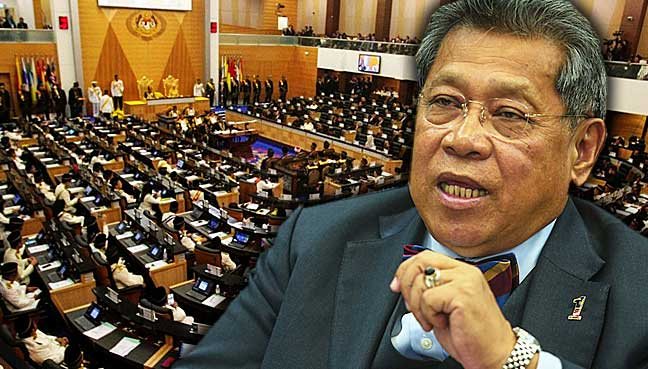 Pandikar has decided that Parliament will go ahead and table the report on the electoral delineation exercise although there are cases pending in court on this.