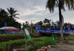The PKR  flags in Parit Bingan.