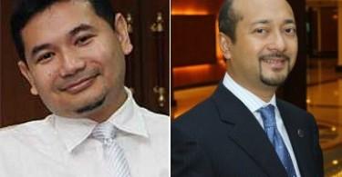 Rafizi Ramli and Datuk Seri Mukhriz Mahathir